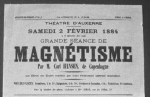 """L'hypnotiseur de scène """"Carl Hansen"""" se produisait à Vienne"""