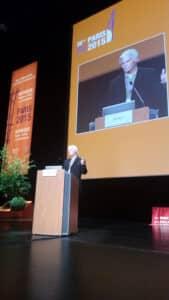 Dr Côté a présenté cette conférence dans le cadre du prestigieux congrès de l'International Society of Hypnosis à Paris en août 2015