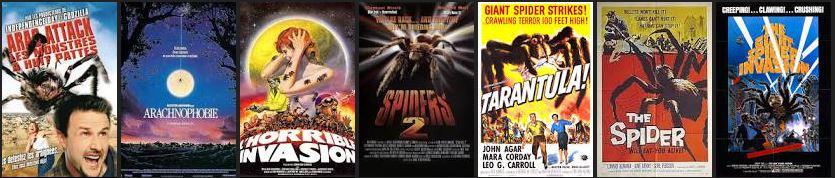 film horreur arachnophobie